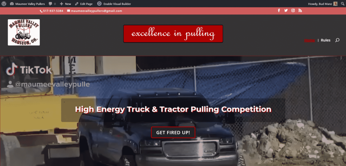 maumee valley pullers website image