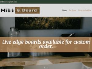New Site Design – Valley Mill & Board