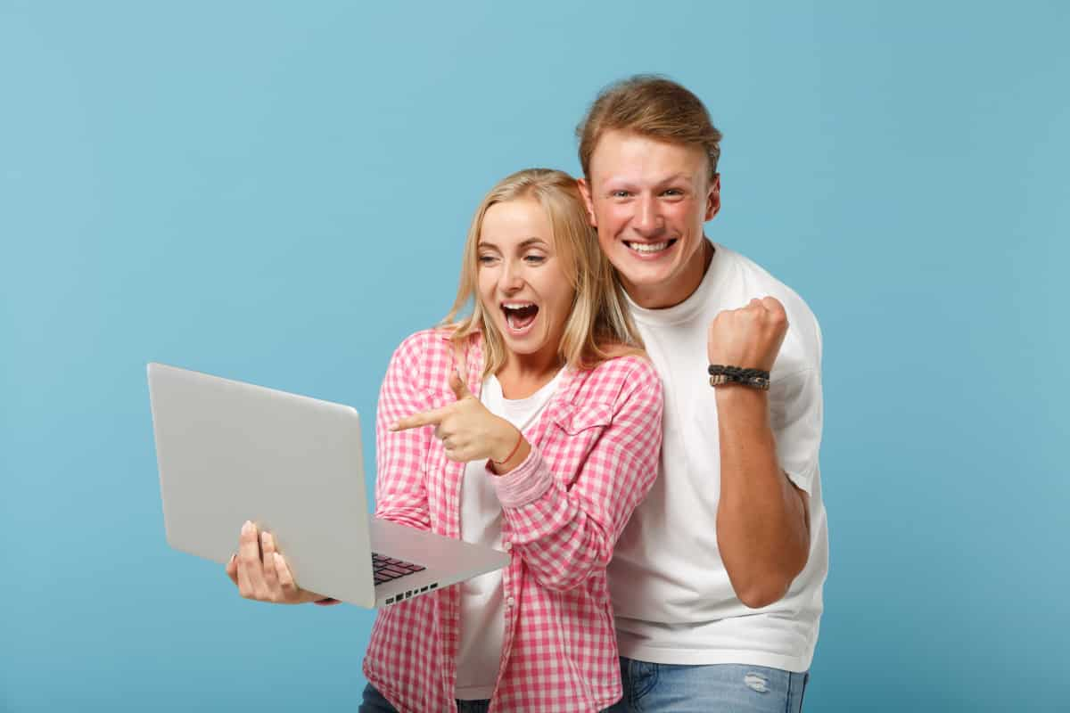 your customers looking at your amazing website!
